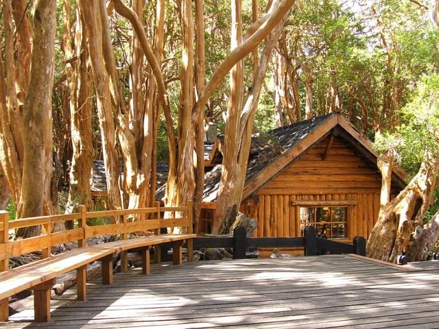 Cabaña entre los arrayanes, referencia a Walt Disney.