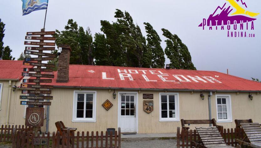 Frente de la Estancia La Leona