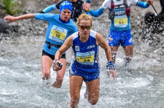 Participante argentina en el Mundial de Maratones de Montaña