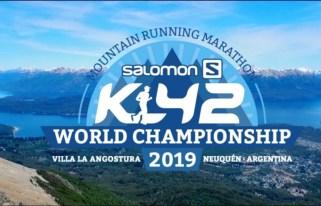 Flyer del Mundial de Maratones de Montaña en Villa La Angostura