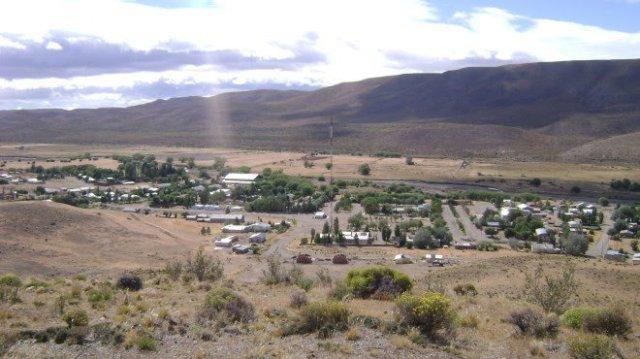 Panorámica de la localidad de Ñorquinco