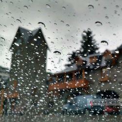 Bariloche con lluvia