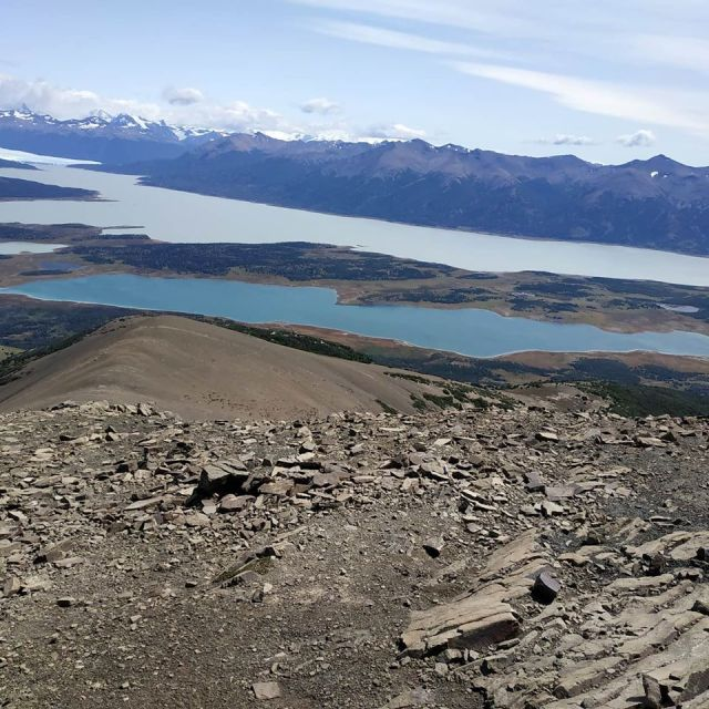 Panorámica desde la cima del Cerro Cristal.