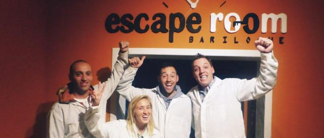 Participantes de Escape Room
