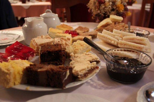 Torta galesa en la Patagonia.