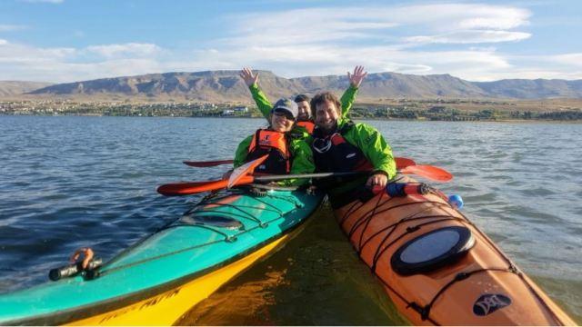 kayak en El Calafate