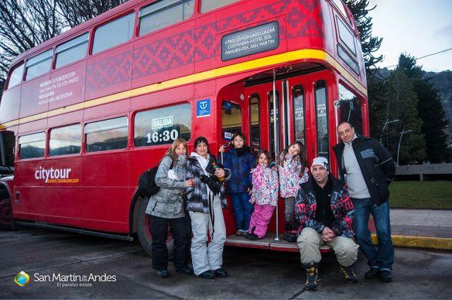 Bus turístico de San Martín de los Andes.