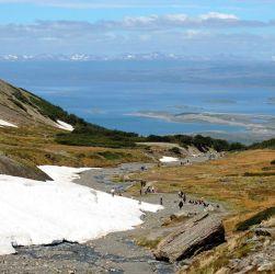 Tierra del Fuego glaciar Martial Ushuaia