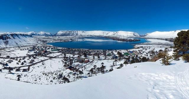 Caviahue, centro de esquí.