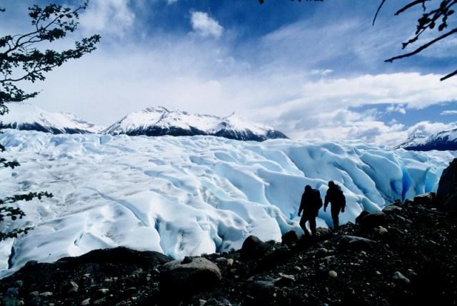 Trekking y senderismo en Santa Cruz. Glaciar Perito Moreno.