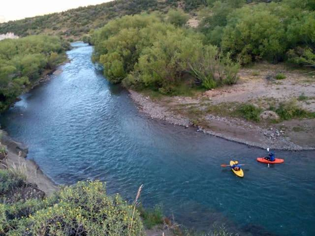 Alto Río Percy turismo.