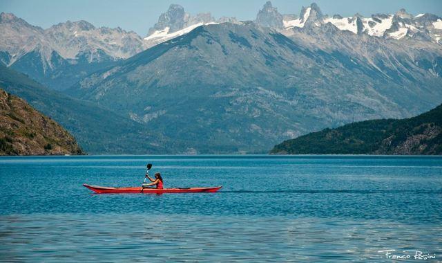 Cerro Tres Picos, Lago Puelo.
