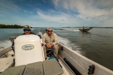 dorado fly fishing in Argentina, Patagonia Fly Fisherman