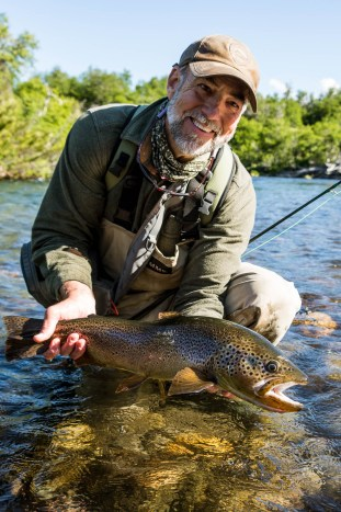Fishing Patagonia - Patagonia Fly Fisherman