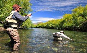 Patagonia Fly Fisherman - Massimo Tirchi