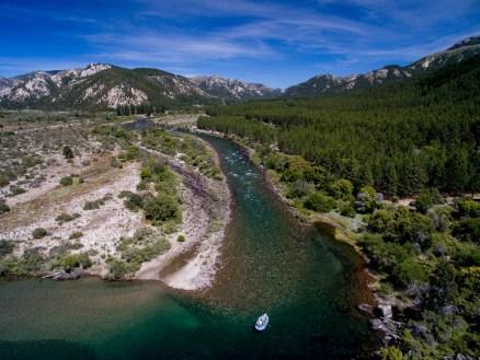 Patagonia Fly Fisherman - Caleufu River