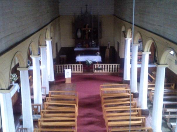 Unesco Wooden Church Nercon of Chiloe, Patagonia Chile