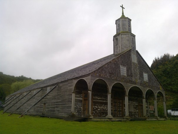 Unesco Wooden Church of Quinchao Chiloé, Patagonia Chile