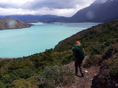 Paesaggio di bellezza in Lakes Torres del Paine  patagoniachilenacom