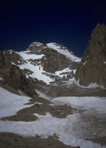 Aconcagua's E. Face and Polish Glacier
