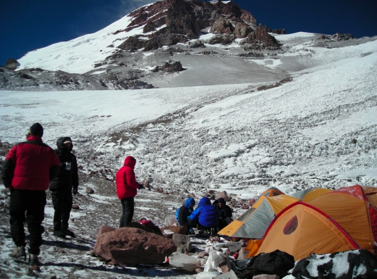 At Camp 2 and ready for High Camp