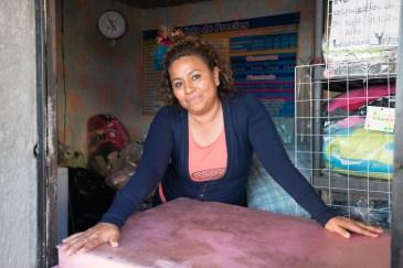 Araceli Ramirez Guzman at her Lavandería at Gomez Sandoval outside of Oaxaca