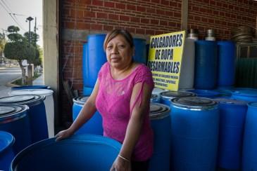 """Angelina Garcia, Plasticos, """"Juquilita,"""" in San Agustin de Las Juntas outside of Oaxaca"""