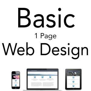 PB Web and Graphic Design Offering Basic Web Design