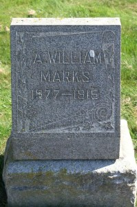 Andrew William Marks 1877-1915. Photo by James Brooks