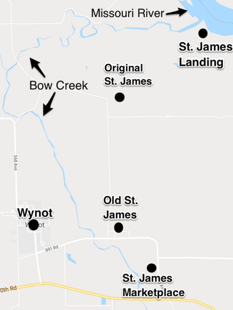 St. James, Nebraska 3 locations