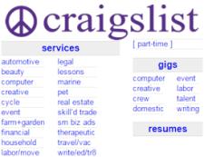 marketing on craigslist