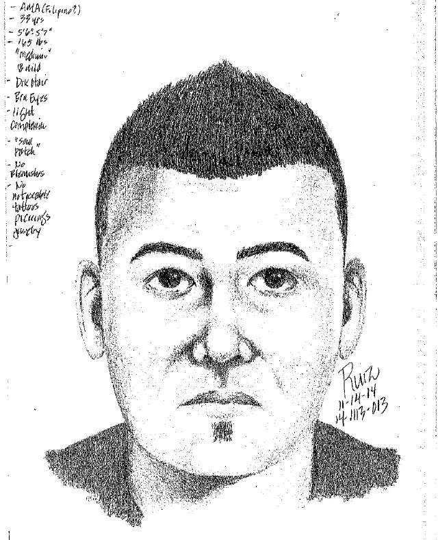 Police Release Sketch of Suspect Who Offered Money to