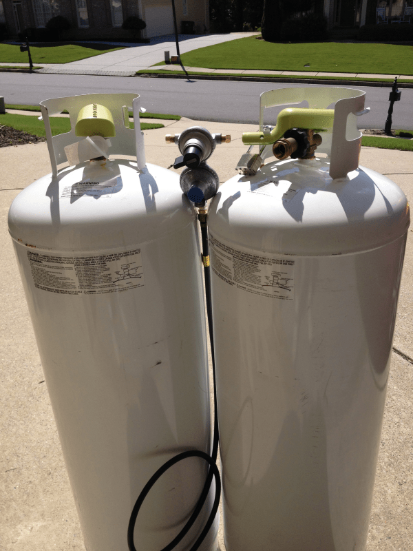 2 Brand Fully Filled 100 Pound Propane Tanks Sell Buford Ga Patch