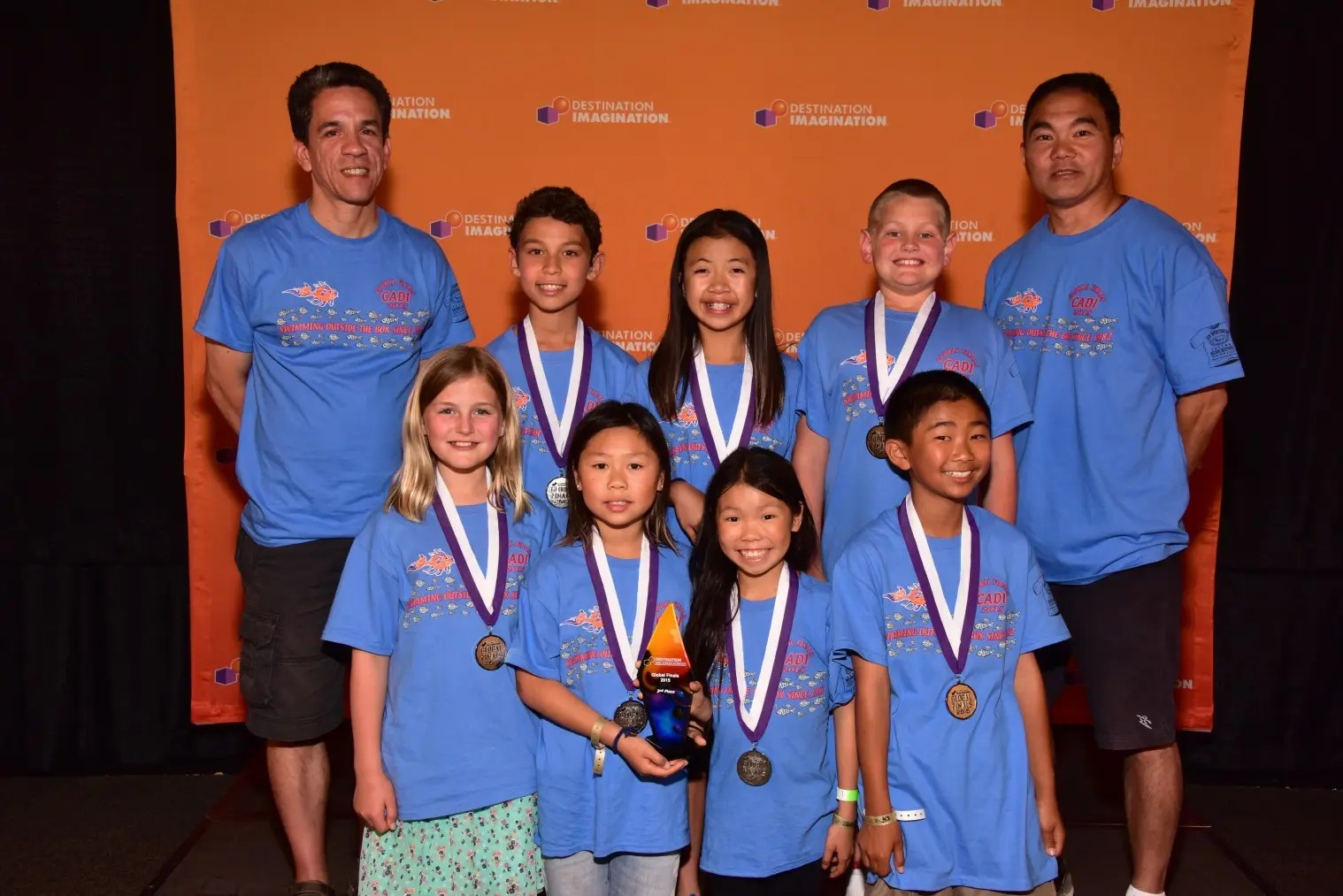 Amelia Earhart Elementary School Students Place 2nd In