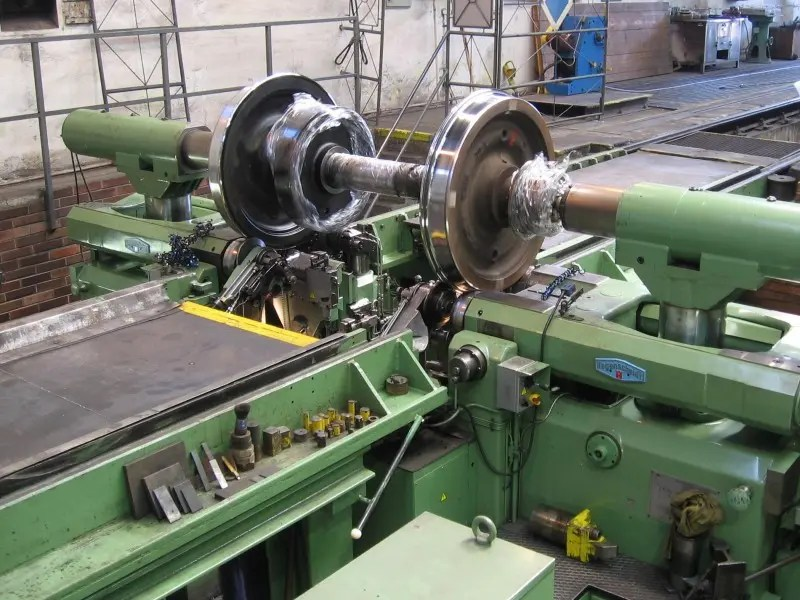Industrial Lathe Accident