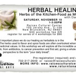 Herbal Healing 4 Herbs Of The Kitchen Cabinet Food As Medicine New Brunswick Nj Patch