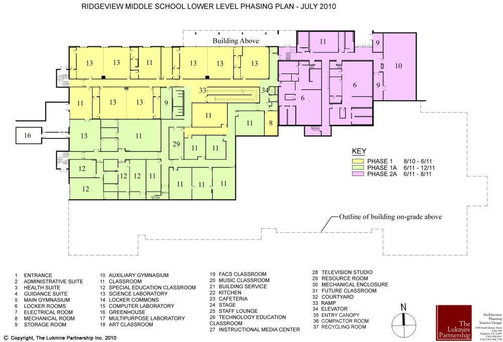 medium resolution of  ridgeview middle school shares major construction plans with community 0