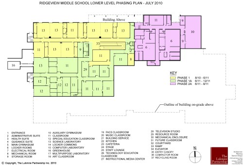 small resolution of  ridgeview middle school shares major construction plans with community 0