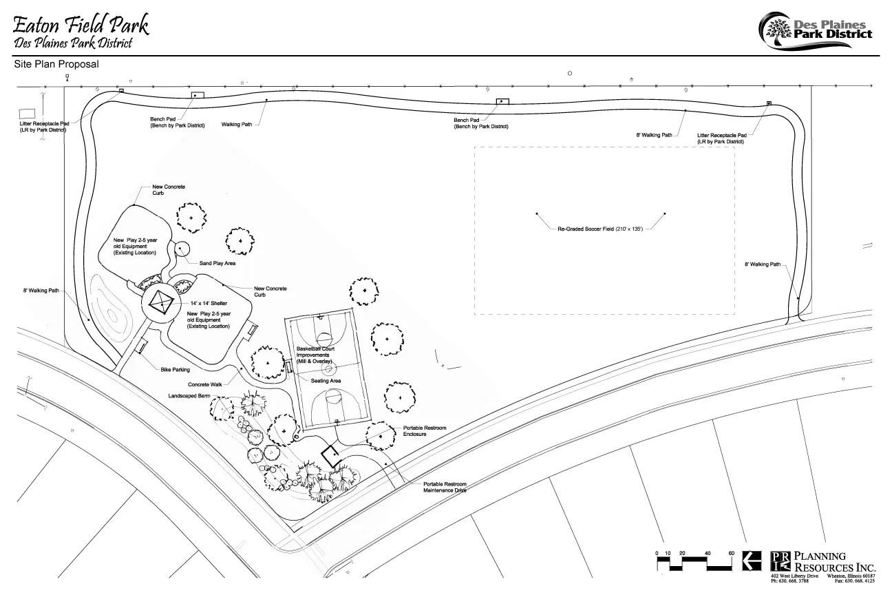 Des Plaines Park District Public Forum for the Renovation