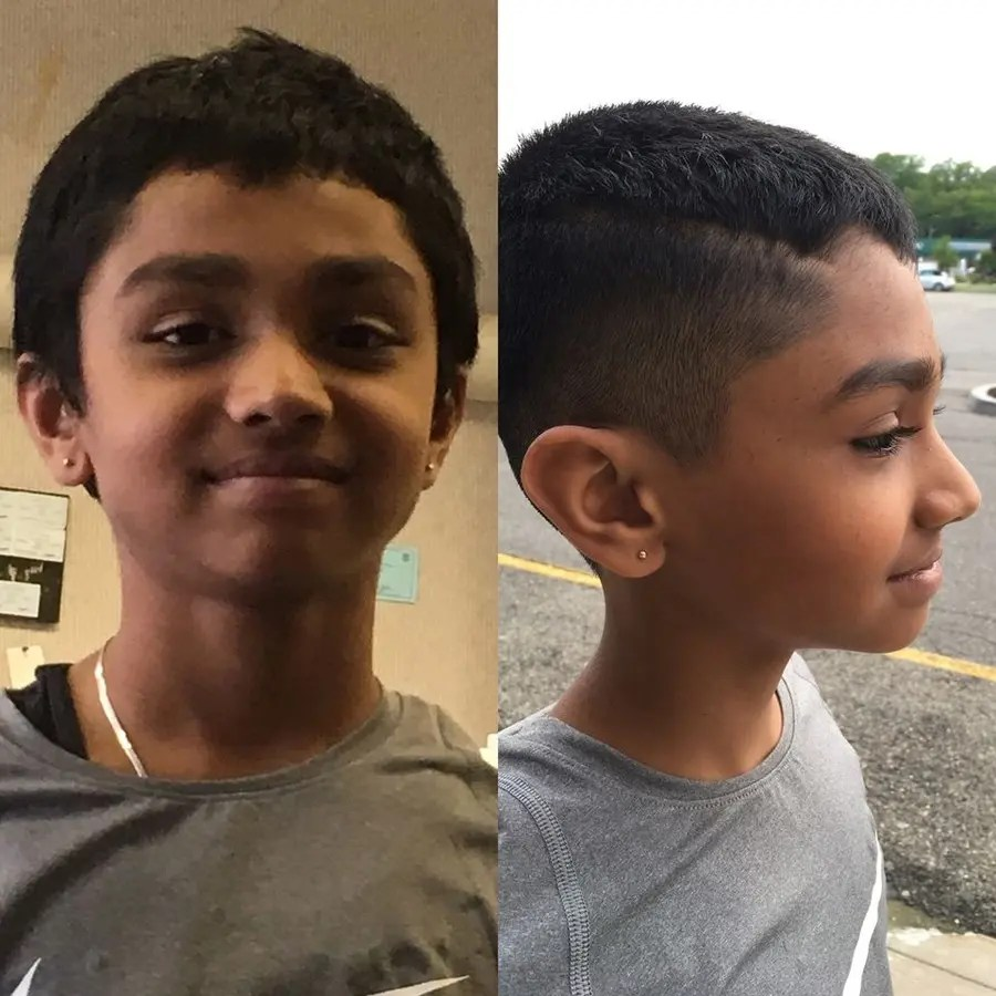 police search for boy