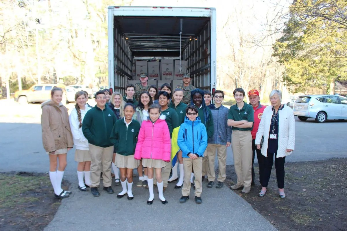 Harbor County Day School Collects Thousands Of Donated