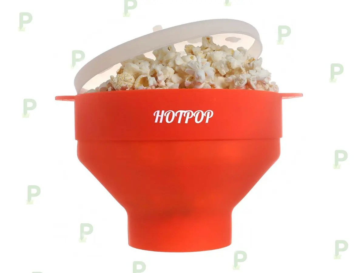 this microwave popcorn popper is a