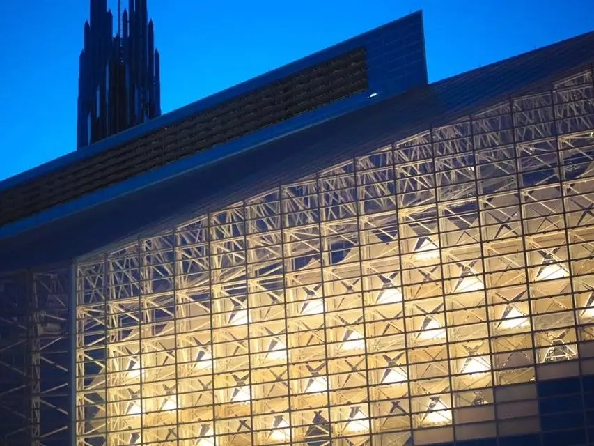 crystal cathedral transformed to