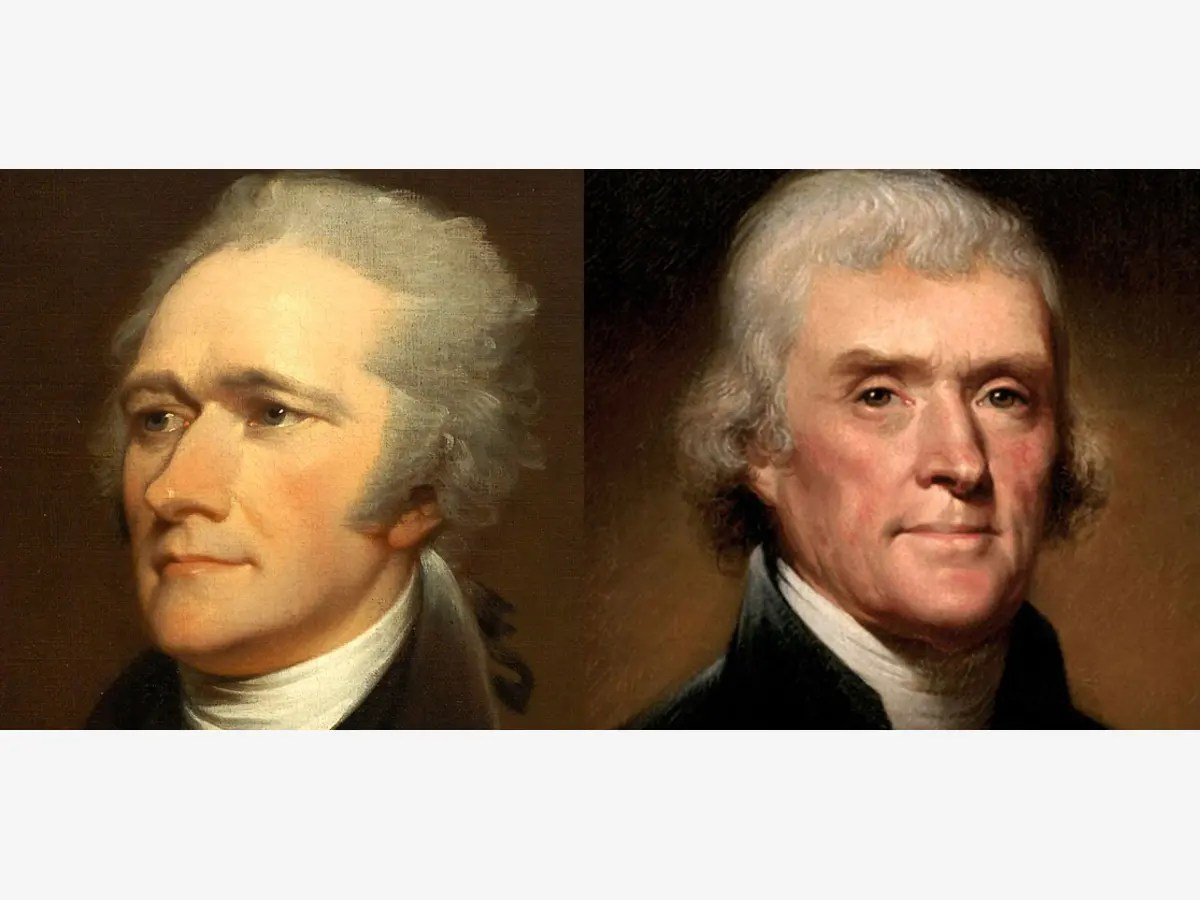 Hamilton Vs Jefferson The Rivalry That Shaped America