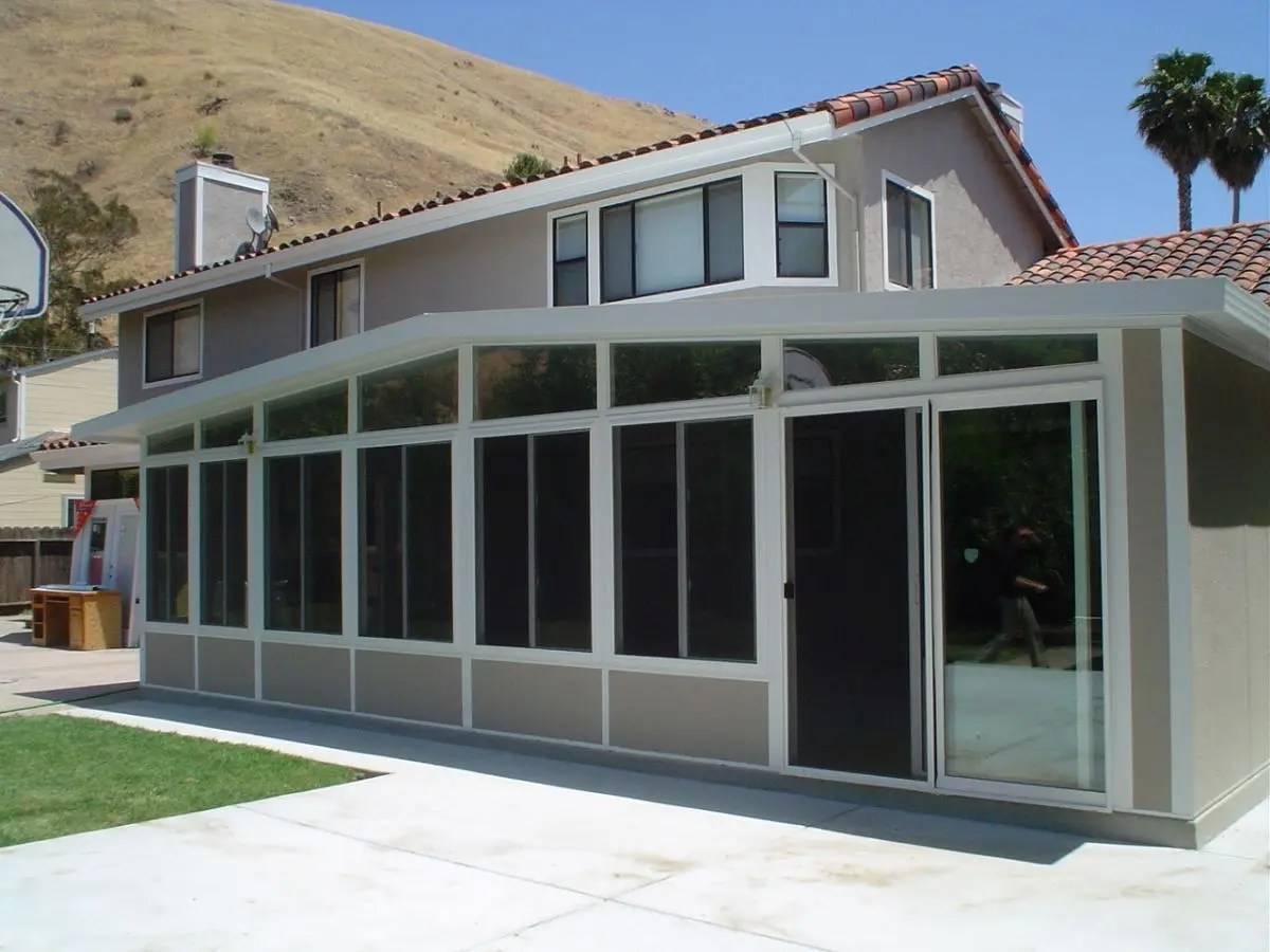 really cost to build a sunroom
