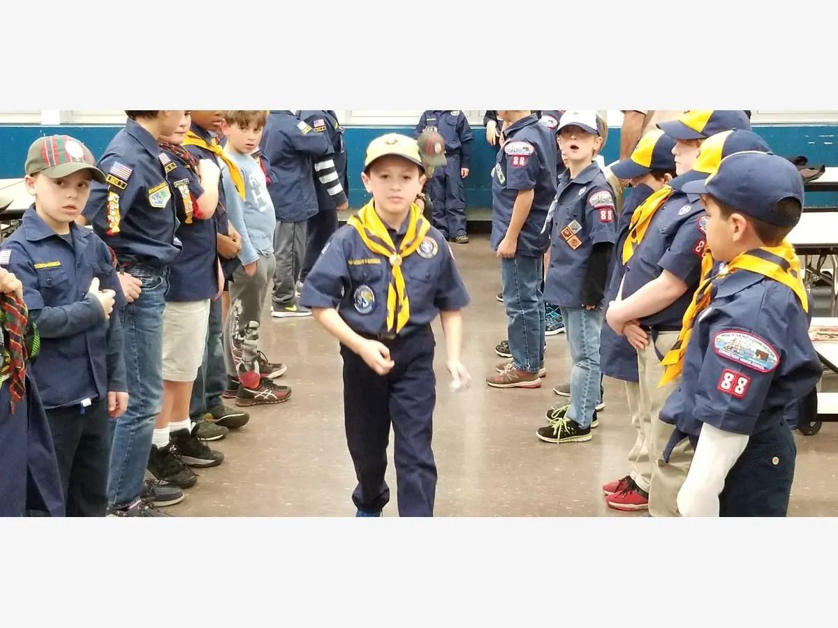 New Cub Scouts Earn Bobcat Badge