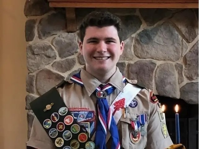 Shannon Achieves Scouting S Highest Honor Mendham Nj Patch