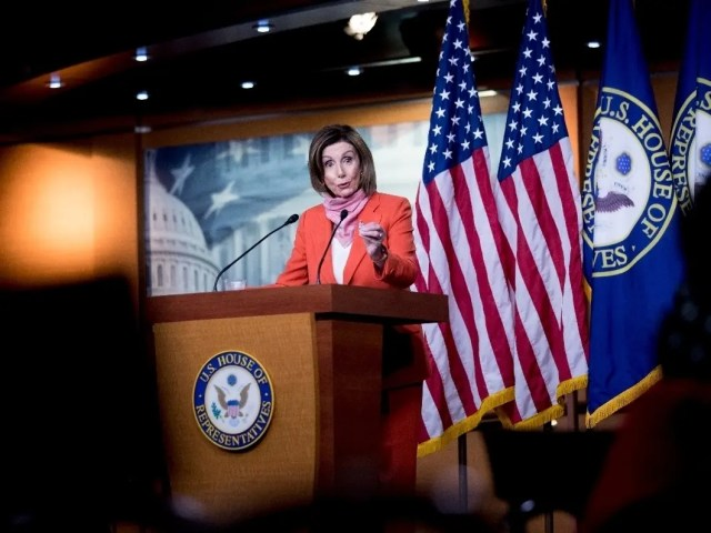 House Speaker Nancy Pelosi of Calif., speaks during a news conference on Capitol Hill.