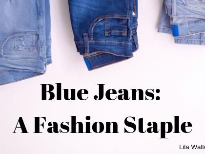 blue jeans a fashion