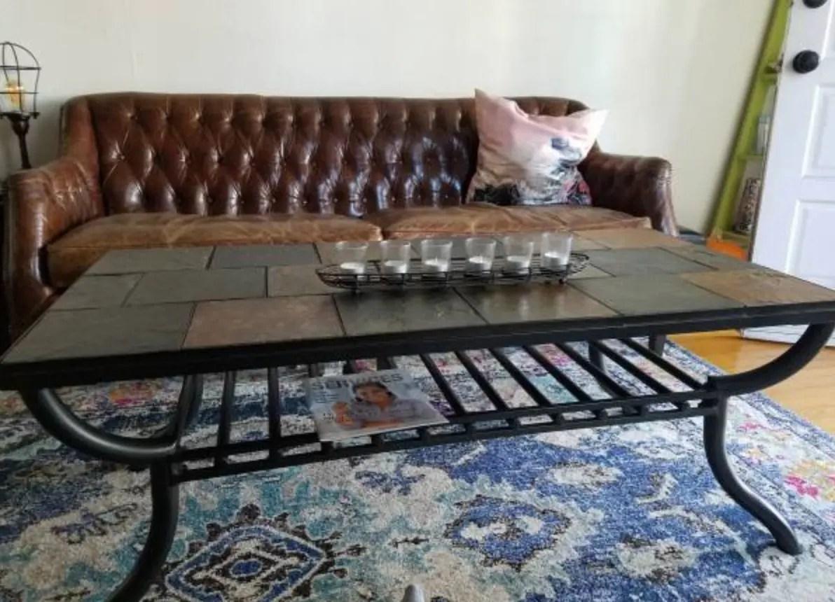 free stone tile coffee table venice